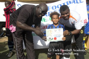 G-Tech Football Academy in The Gambia 2