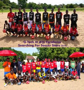Football Trials In The Gambia