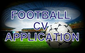 football cv application